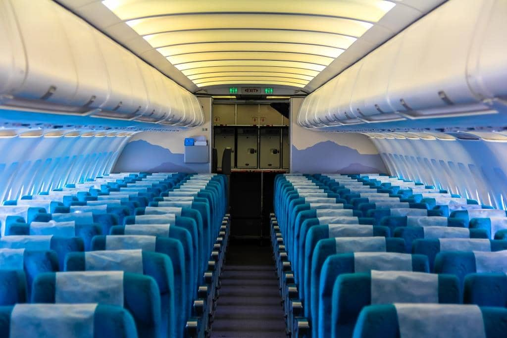 commercial Jet Dubai Seating