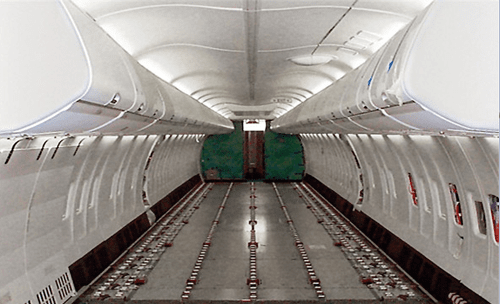 private cargo plane UAE